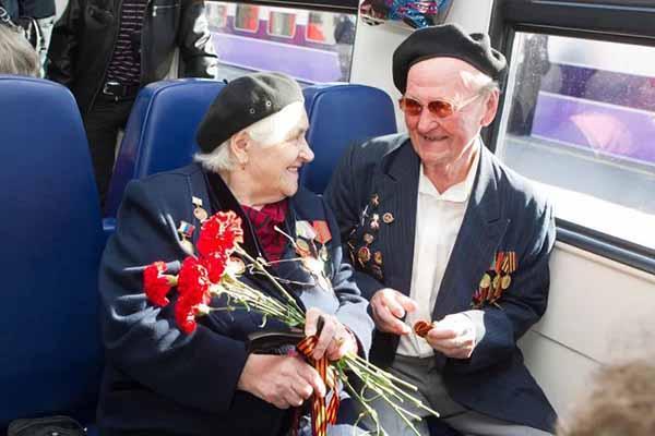 В майские праздники участники ВОВ смогут путешествовать по России бесплатно